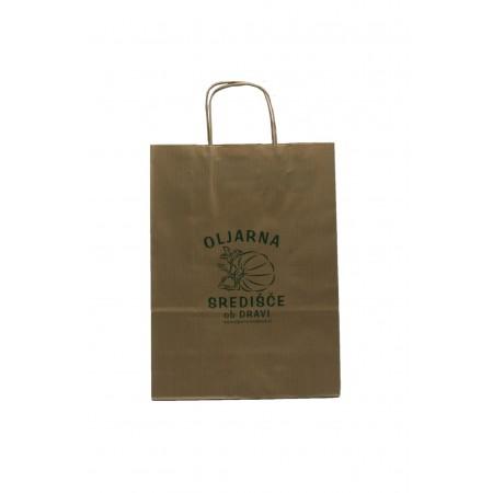 Nosilna vrečka - papir 25cm x 35 cm