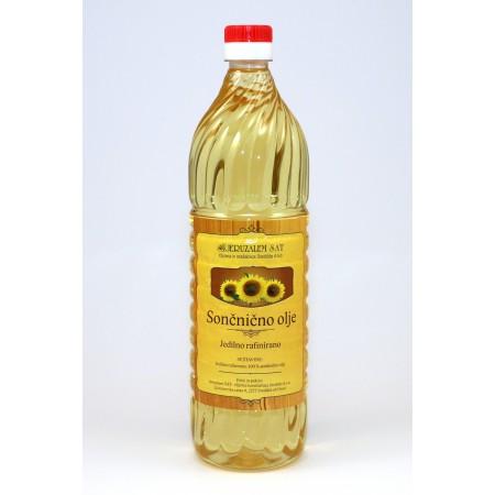 Sončnično olje 1 l - PET embalaža