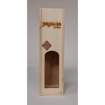 Lesena škatla za bučno olje