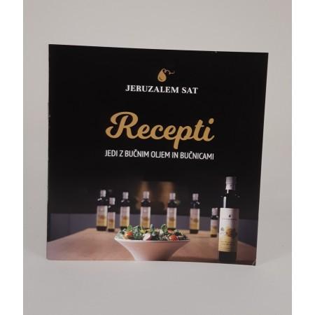 Knjižica z recepti za pripravo jedi z bučnicami in bučnim oljem