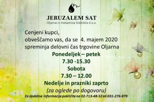 Nov delovni čas trgovine Oljarna, Središče ob Dravi
